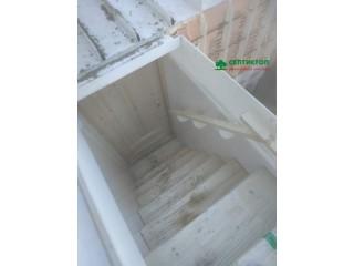 Монтаж пластикового погреба Рус Б-5 с нестандартным входом!