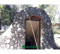 Внешняя отделка погреба