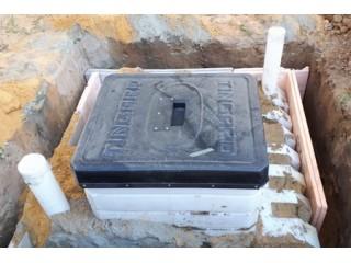Монтаж погреба «Тингард»